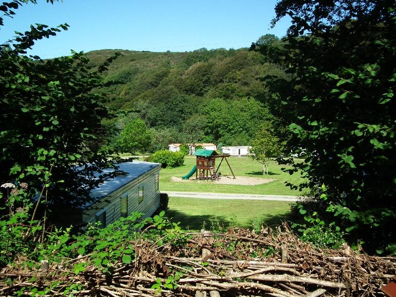 Play Area at Maes Glas Caravan Park