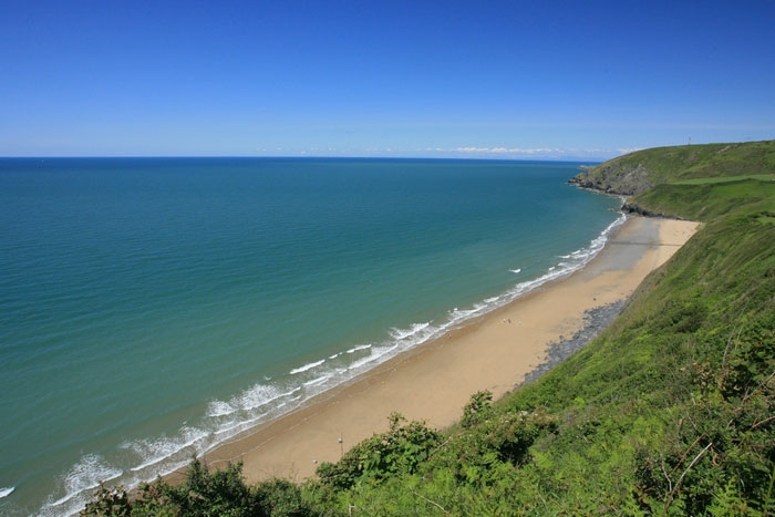 Penbryn National Trust beach ©Janet Baxter