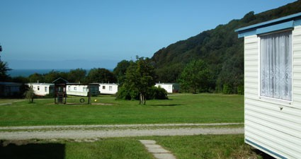 View of Sea from Caravan Park