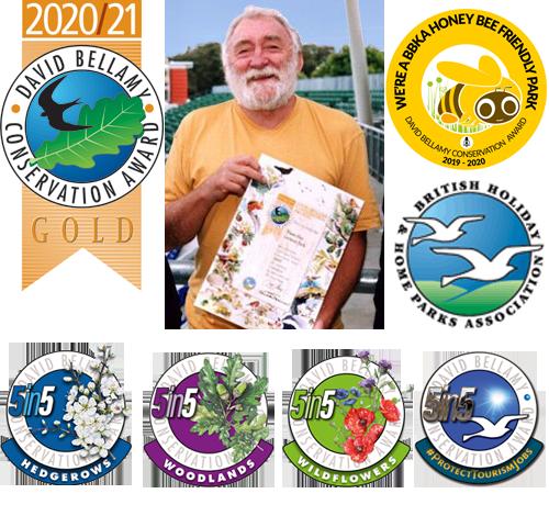 Maes Glas Conservation Award Winning Caravan Park