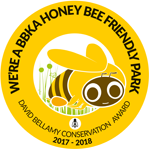 Honey Bee Friendly Park Award 2017-2018